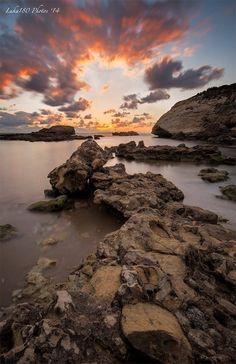 Torre del Pozo Sunset, Sardinia by Luca Sanna