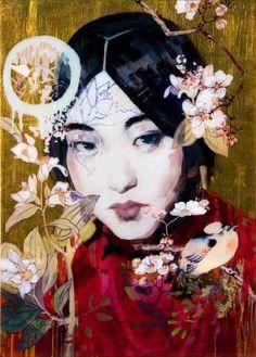 Hung Liu (b1948, Changchun, China; based in California since 1984)