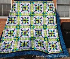 Easy Street (pattern by Bonnie Hunter) by A Quilt and A Prayer