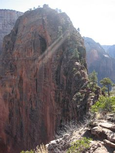 Angels Landing, Utah  Hiked this with Ed a couple of years ago, however didn't make it to the very top...bummer :(