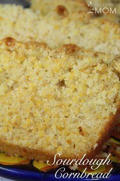 Sourdough Cornbread
