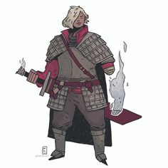 another dnd character (repost but without all the info). i was particularly happy with the colors on this one - - - #dnd #illustration #fantasy #characterdesign #roleplay #tabletop #drawingoftheday #costumedesign #art #digitalart #conceptart #comics