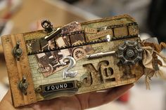 Tim Holtz Art. Love his mixed media work!