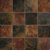 Marazzi Imperial Slate 6 in. x 6 in. Multicolor Ceramic Floor and Wall Tile sq. / - The Home Depot Best Floor Tiles, Glazed Ceramic, Porcelain Tile, Wall Tiles, Slate, Ceramics, Flooring, Wood, Kitchen Backsplash
