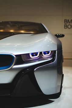 BMW i8 - this car is the #future. #BMW #Design