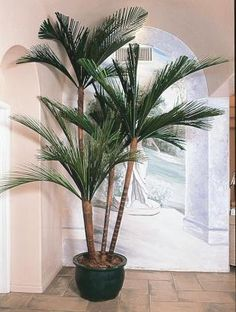 Living Realistic Faux Floor Plants High Quality Plantscaping