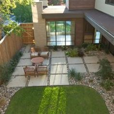 Exceptional Flat Roof, Horizontal Wood, Stone. Modern Patio By Greico Designers/Builders  Dallas
