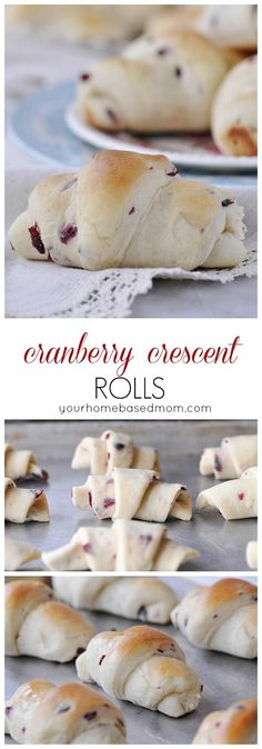 Cranberry Crescent Rolls Recipe - Perfect for Thanksgiving Dinner and your Holiday Parties