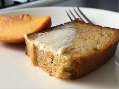 Almond Rum Bread and Driving Like an Old Man – Gus Baldwin Almond Bread, Almond Cakes, Almond Flour, Plums And Peaches, Blueberry Compote, Gluten Free Banana Bread, Jam On, Rum Cake, Fun Cup