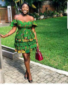 """The best ankara dress styles are absolutely top notch.African fashion with its ankara styles and lace styles popularly known as as """"asoebi"""" are here to stay. Best African Dresses, African Print Dresses, African Print Fashion, Africa Fashion, African Attire, African Wear, African Fashion Dresses, African Women, African Style"""