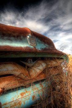 Vintage Ford Truck front end 8x10 fine art by JeremyHolmesArt