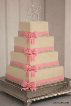 Rhinestones and pink bows