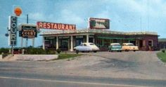 Stones River Motor Court and Restaurant 1950s - cropped from postcard - ebay