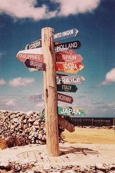 Mein größter Traum ist es die Welt zu entdecken und zu bereisen. Diese Länder sind nur ein kleiner Teil von dem was ich sehen möchte.