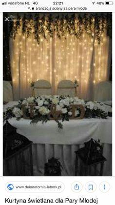 Rustic Wedding, Our Wedding, Dream Wedding, Wedding Types, Floral Backdrop, Wedding Reception Decorations, Christmas Wedding, Marie, Wedding Flowers