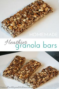 Homemade granola bars are a wonderful option when you want a quick and easy snack to grab on the go.