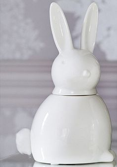 Marks and spencer easter tea set 600 2950 easter gift your very own cotton tail bunny this ceramic rabbit dispenses cotton wool balls from its easter giftdressing negle Choice Image