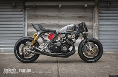 The BS4 - Honda CBX 1000 1981 by Bad Seeds Motorcycles