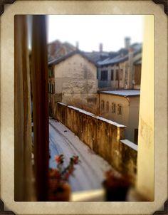Winter in Feltre, Italy