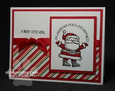 get your santa on stampin up - Google Search
