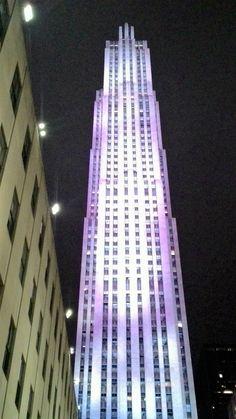 The Beautiful Night Lights Of New York City
