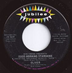 Good Morning Starshine / Oliver / #3 on Billboard 1969