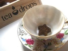 Tea With Friends / Tea Drops made in a home kitchen in Los Gatos California. Click the photo link as it is most interesting and there are many wonderful pictures!