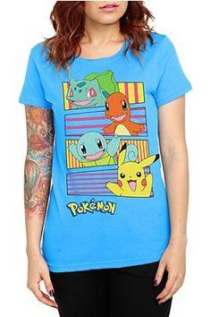 Girl's Pokemon t-shirt