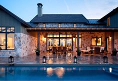 Backyard. Backyad with pool and covered patio. #Patio #Pool #Backyard