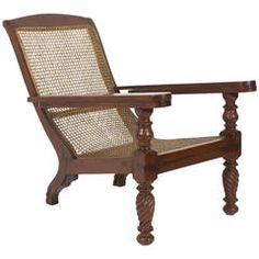 19th Century Anglo-Indian Mahogany Plantation Chair