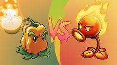 Plants vs Zombies 2 Hack: Fire Peashooter vs Pepper Pult