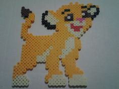 "Simba Disney ""The Lion King"" perler beads by Fluffernugget3"