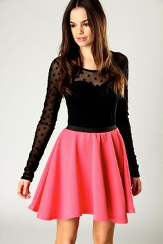 Millie Flared Skater Skirt such a yummy dress, what do you think ? maybe more for a teenage girl