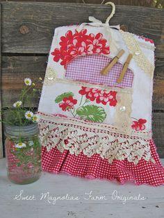 Farm-style clothespin bag