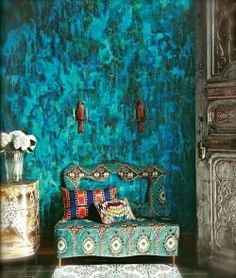azul esmeralda