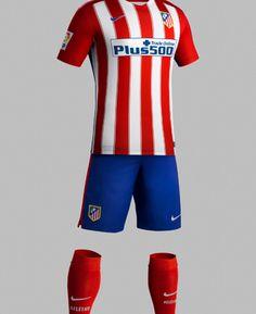 completo calcio Atlético de Madrid 2016