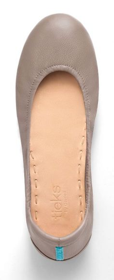 Taupe Tieks - this stunning neutral style distills the warm greys and rich browns found in nature, into the ultimate earth tone.