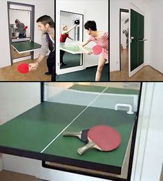 The Ping-Pong Door | 27 Genius New Products You Had No Idea Existed