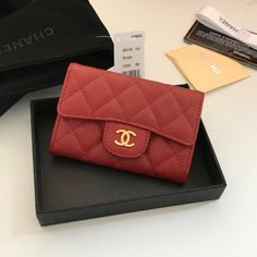 Chanel A80799-8 Classic Small Quilted Wallet