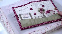 Broderie : Coudre une trousse en patchwork brodé avec Marie Suarez - L'A...