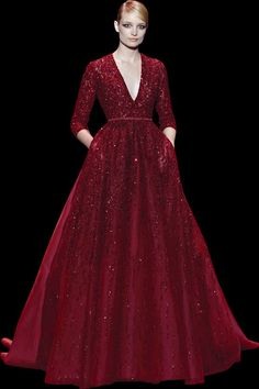 Elie Saab. I want the First Lady to wear this.