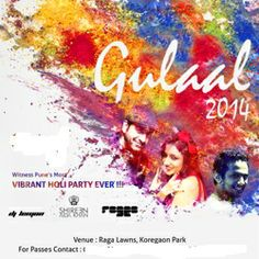 Holi Party 2014 at Raga Lawns. Buy Online Tickets on www.partyonmymind.in