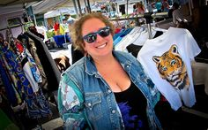 One Photograph a Day: Dafna  Washington, DC--Ran into Dafna at the Street Market on 14th and P Streets NW. Dafna has her own business of vintage clothing.