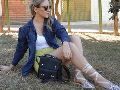 #ootd #lookdodia #jeans #shorthotpants #espadrille