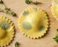 This Homemade Herb Ravioli Is Like A Floral Print For Your Plate - The Chalkboard