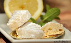 Zitronen Mandel Kekse zur Eiweiß Verwertung