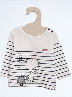 Camisetas - Camiseta 'Snoopy' estilo marinero - Kiabi