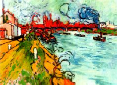 Huile sur toile, 86 x 118 (1905), ANDRE DERAIN