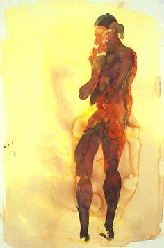 Eric Fischl Watercolors