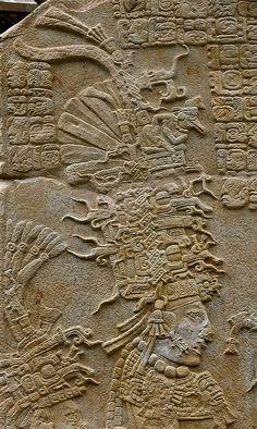 Stela from Bonampak Circa 700 AD
